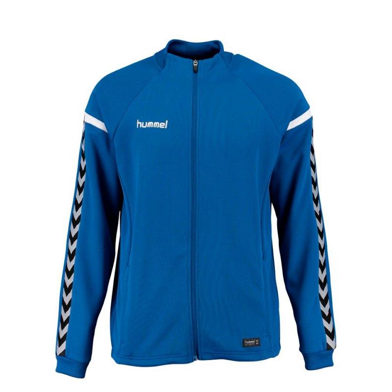 Hummel Zip-Jacke Authentic Charge Blau F7045 - blau