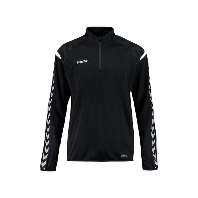 Hummel Sweatshirt Authentic Charge Schwarz F2001 - schwarz
