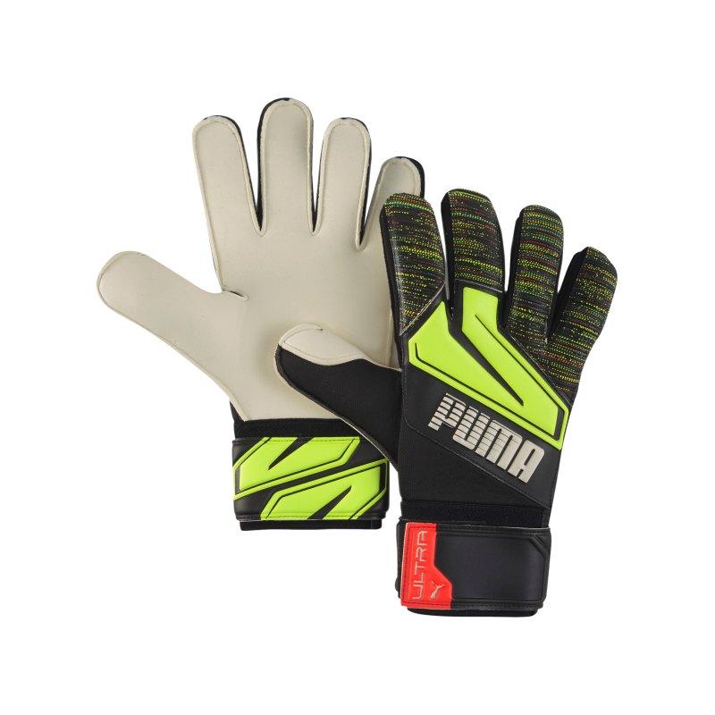 PUMA ULTRA Grip 1 RC TW-Handschuh Schwarz Gelb F08 - schwarz