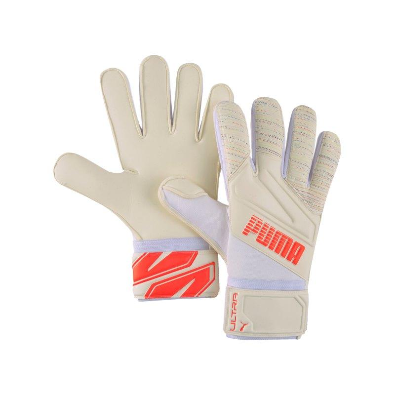 PUMA ULTRA Spectra Grip 1 RC TW-Handschuh Rot Weiss F09 - beige