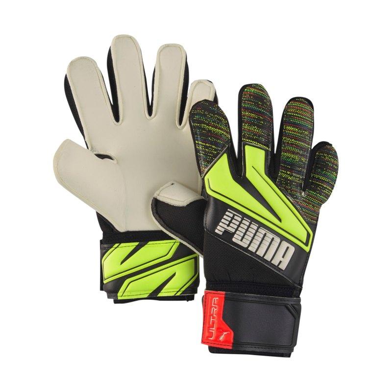 PUMA ULTRA Grip 1 RC TW-Handschuh Kids Schwarz F08 - schwarz
