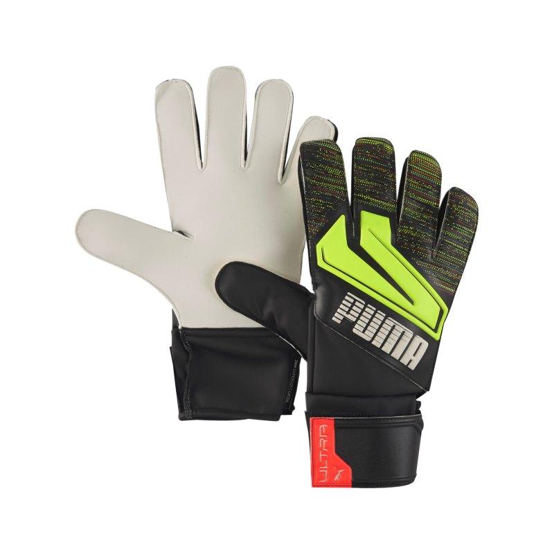 PUMA ULTRA Grip 4 RC TW-Handschuh Schwarz Gelb F08 - schwarz