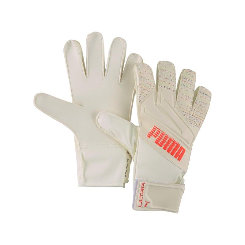PUMA ULTRA Spectra Grip 4 RC TW-Handschuh Rot Weiss F09 - beige