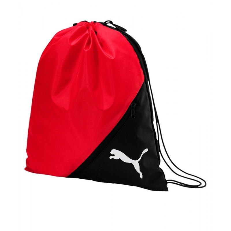 PUMA LIGA Gymsack Schuhbeutel Rot Schwarz F02 - rot