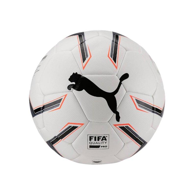 PUMA Elite 1.2 Fusion Spielball Weiss Schwarz F01 - weiss