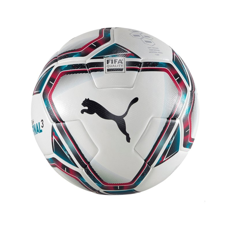 PUMA teamFINAL 21.3. FIFA Trainingsball Gr.5 F01 - weiss