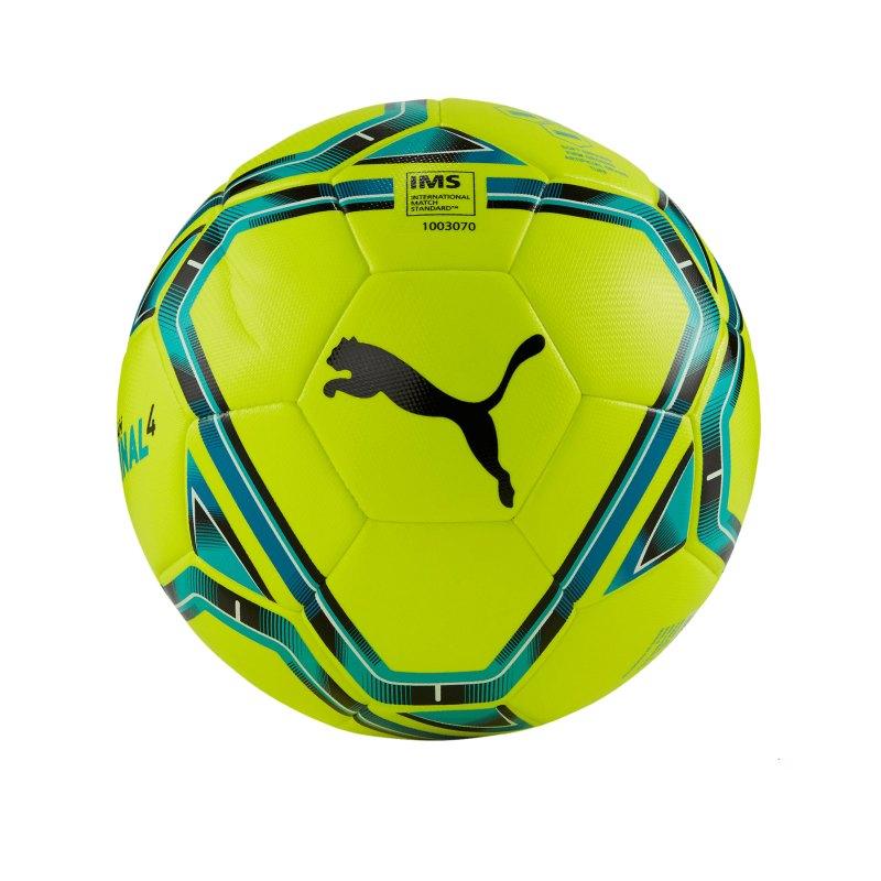 PUMA teamFINAL 21.4. IMS Hybrid Ball Gr. 5 F03 - gelb