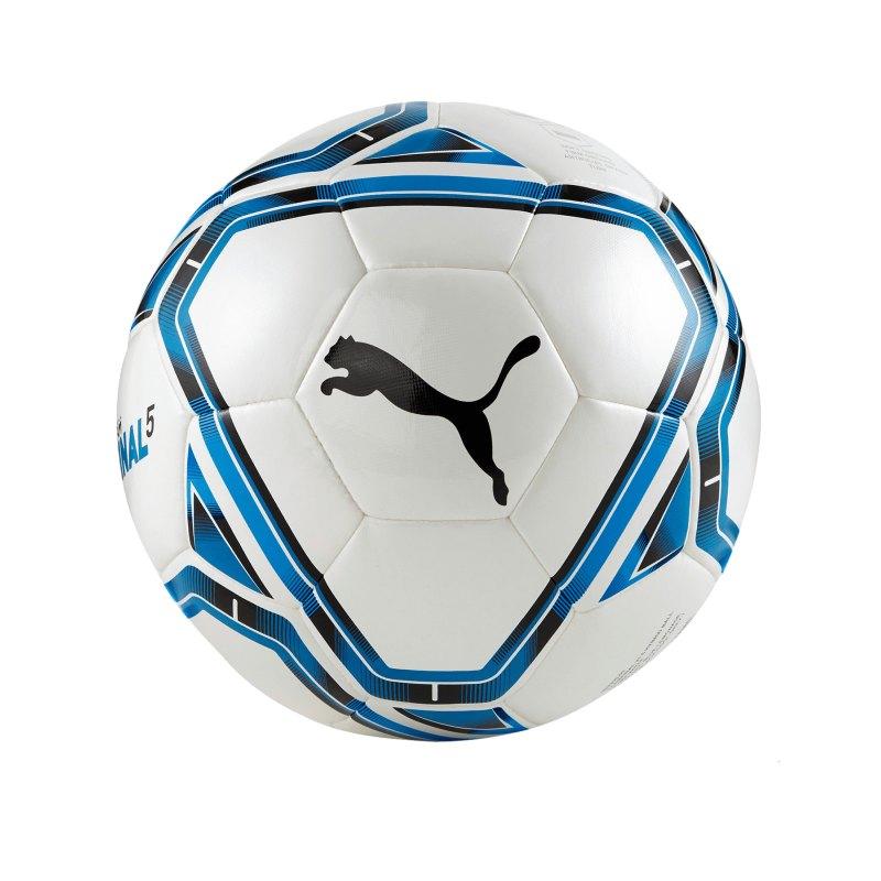 PUMA teamFINAL 21.5. Trainingsball F03 - weiss