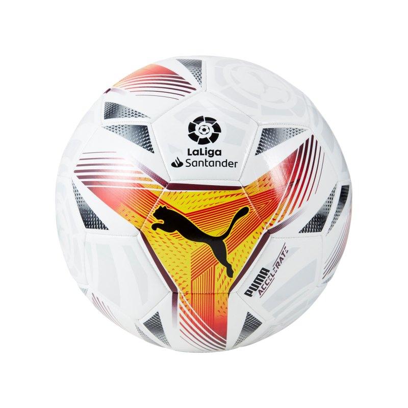 PUMA LaLiga 1 Accelerate MS Trainingsballl F01 - weiss