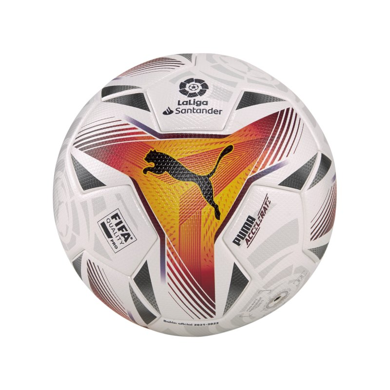 PUMA LaLiga 1 Accelerate FQP Spielball Weiss F01 - weiss