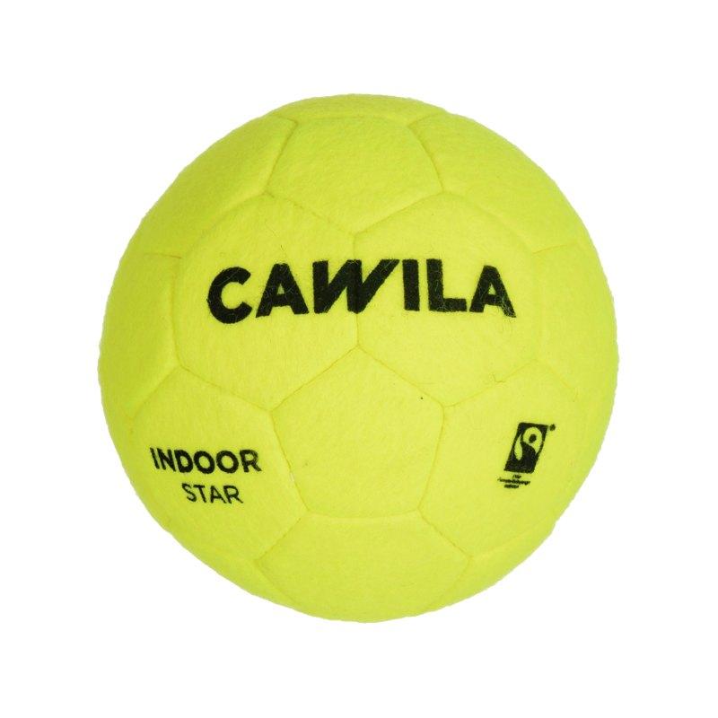 Cawila Fussball Indoor Star 4 Gelb - gelb