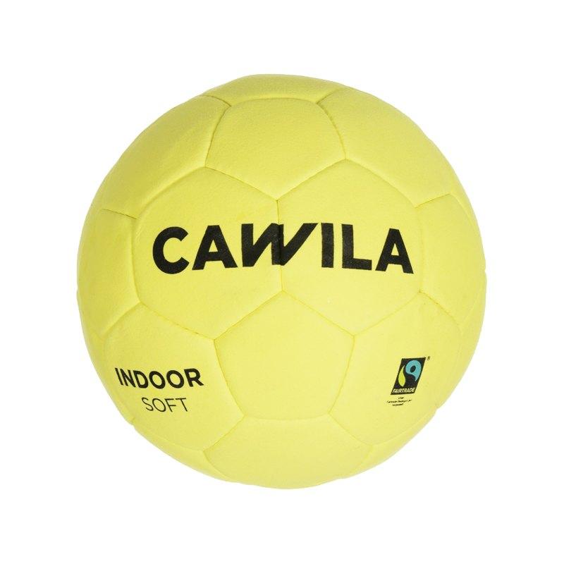 Cawila Fussball Indoor Soft 4 Gelb - gelb