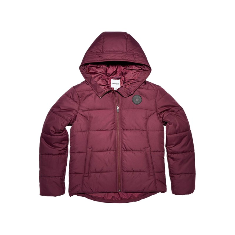 Converse Core Poly Fill Puffer Jacke Damen F262 - rot