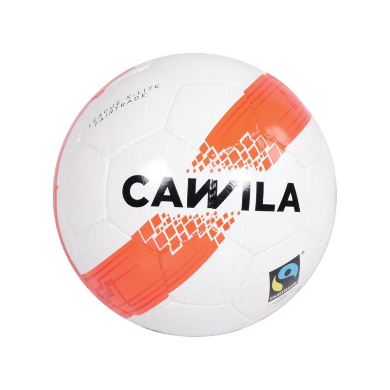 Cawila Fussball ARENA X-LITE 290 Fairtrade 4 Weiss - weiss