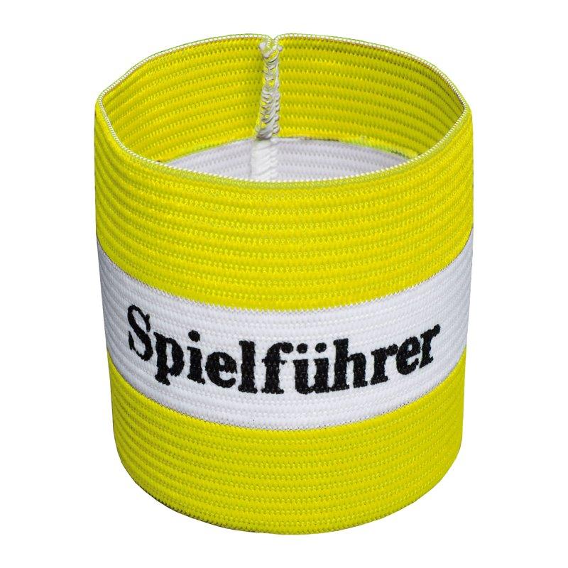 Cawila Spielführer Armbinde Junior Gelb - gelb