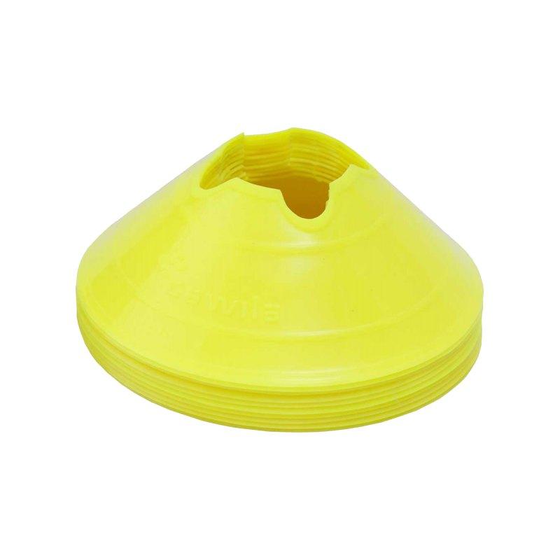 Cawila Mark.Scheiben M 10Stk d20cm 6cm Gelb - gelb