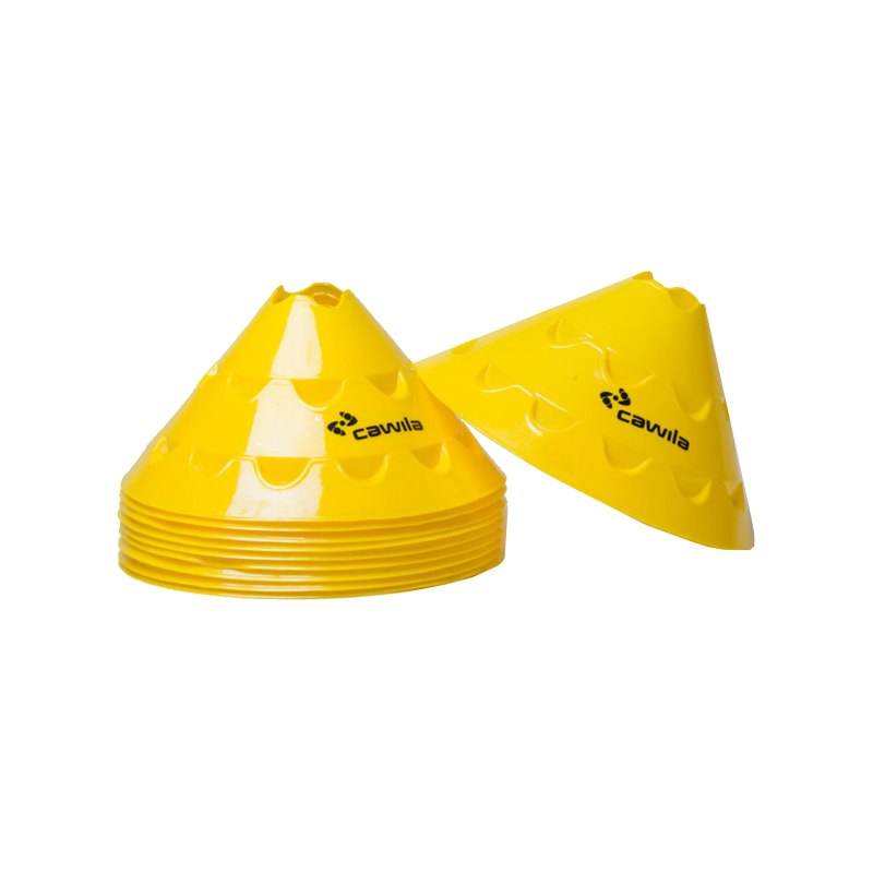 Cawila Multischeiben 10er Set d30cm 15cm Gelb - gelb