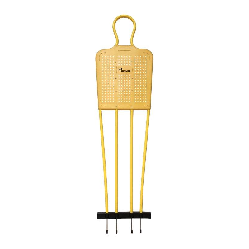 Cawila Freistossdummy KICK PRO 170cm Gelb - gelb