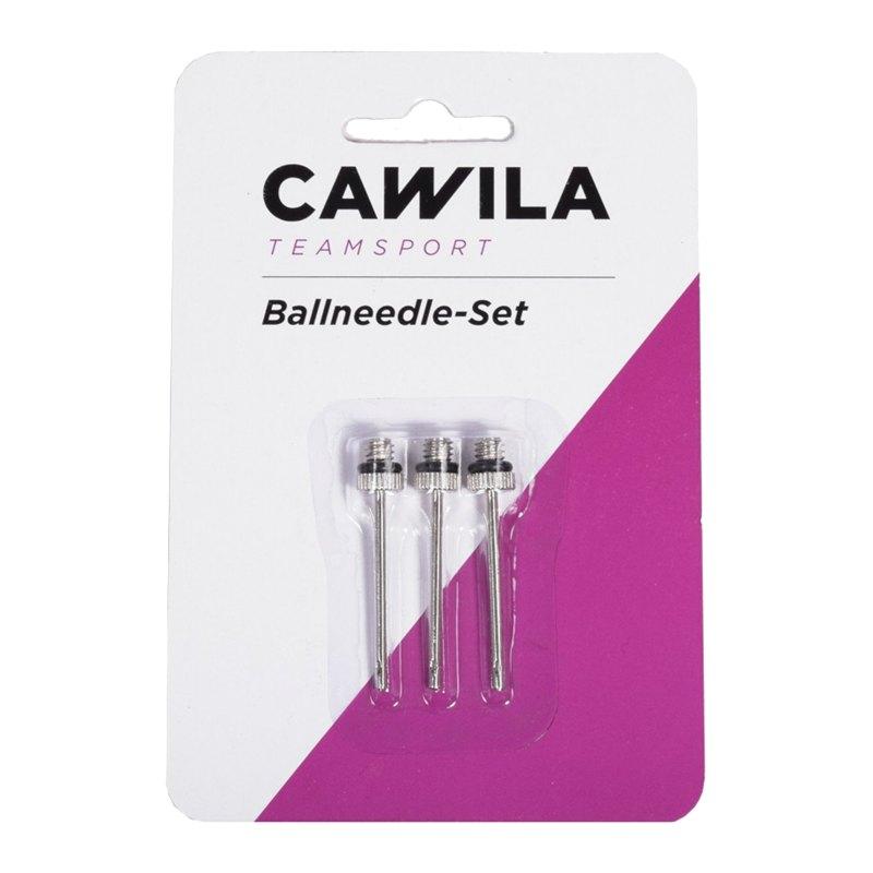 Cawila Metall Ballnadel 3er Set - silber