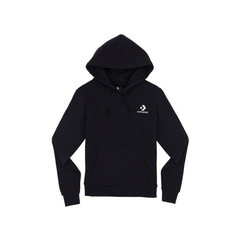 Converse Star Chevron Kapuzensweatshirt Damen F001 - schwarz