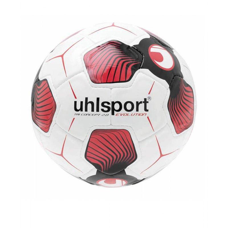 Uhlsport Ball Tri Concept 2.0 Evolution F01 - weiss