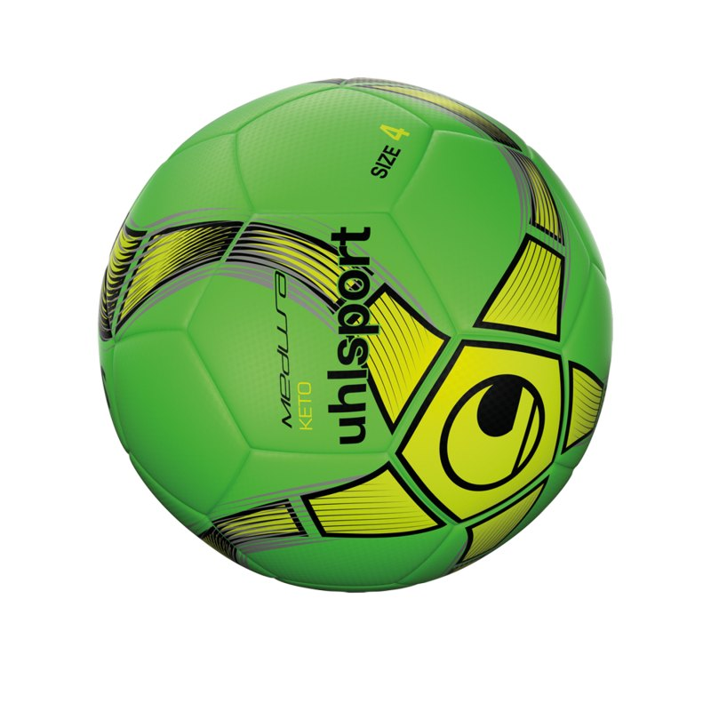 Uhlsport Medusa Keto Trainingsball Grün F02 - gruen