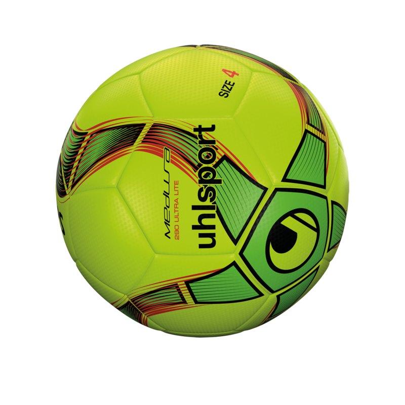 Uhlsport Medusa Anteo 290 Ultra Lite Fussball F02 - gelb