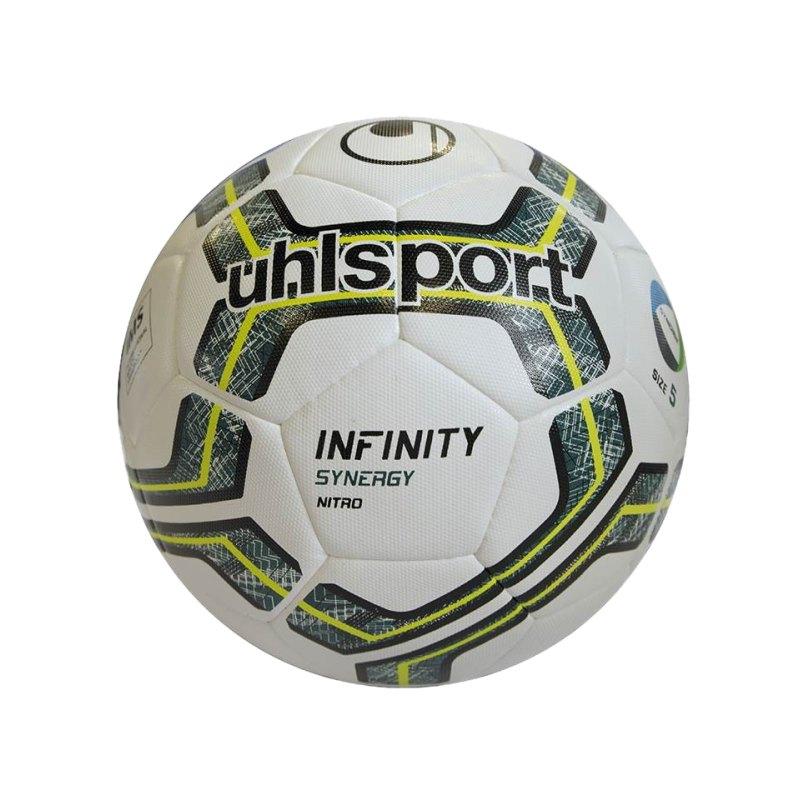 Uhlsport Ball Infinity Synergy Nitro 2.0 Weiss F01 - weiss