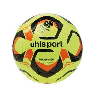 Uhlsport Trainingsball Triompheo Club Gelb F02 - gelb