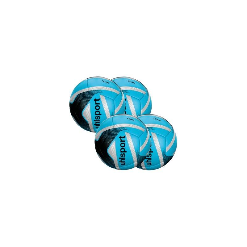 Uhlsport Infinity Team Miniball 4er Set Blau F03 - blau
