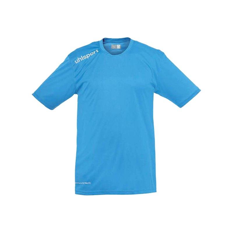 Uhlsport T-Shirt Essential Training Kinder Blau F07 - blau
