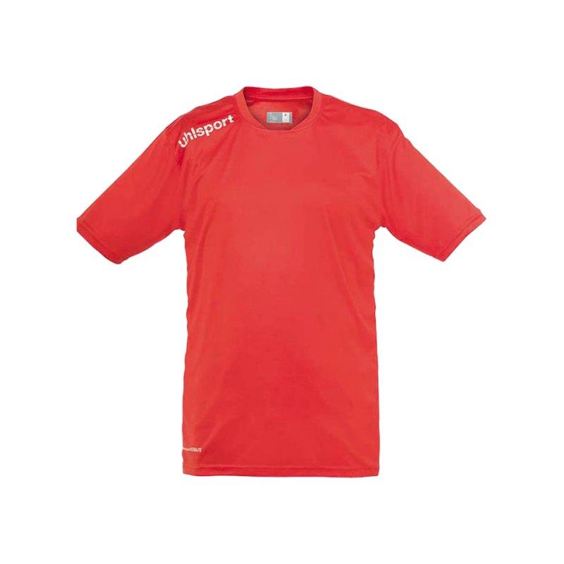 Uhlsport T-Shirt Essential Training Kinder Rot F06 - rot