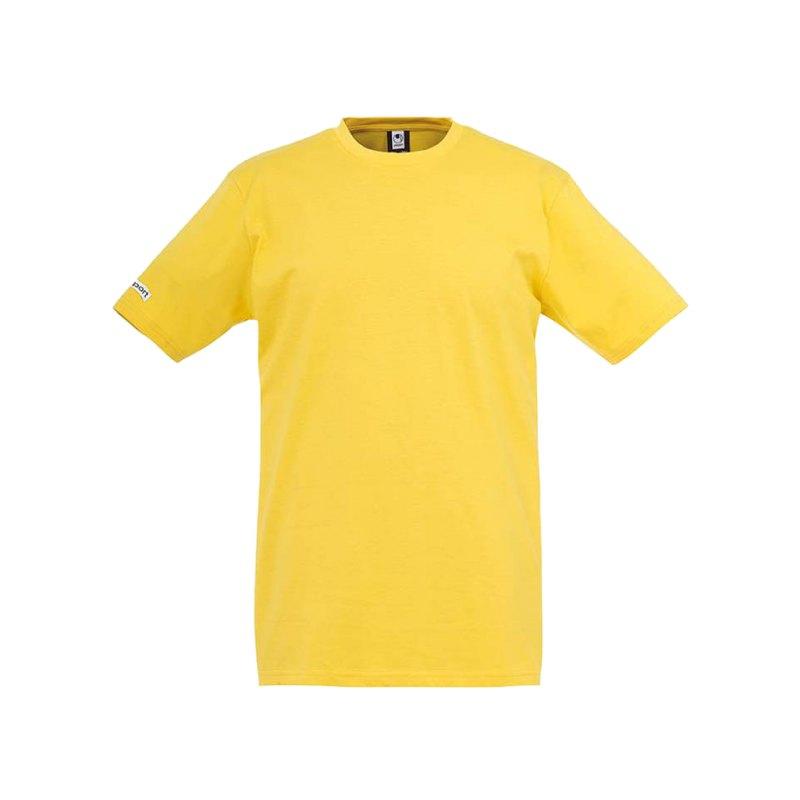 Uhlsport T-Shirt Team Kinder Gelb F05 - gelb
