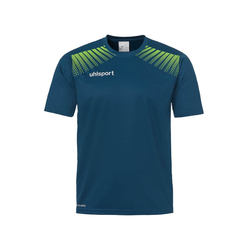 Uhlsport T-Shirt Goal Training Blau Grün F06 - blau