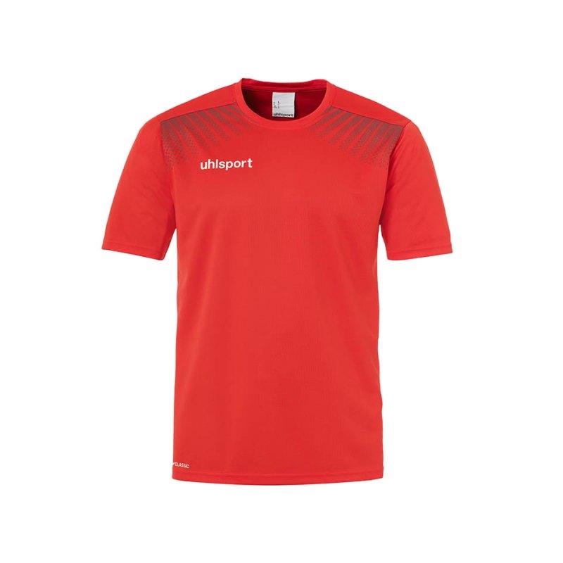 Uhlsport T-Shirt Goal Training Kinder Rot F04 - rot