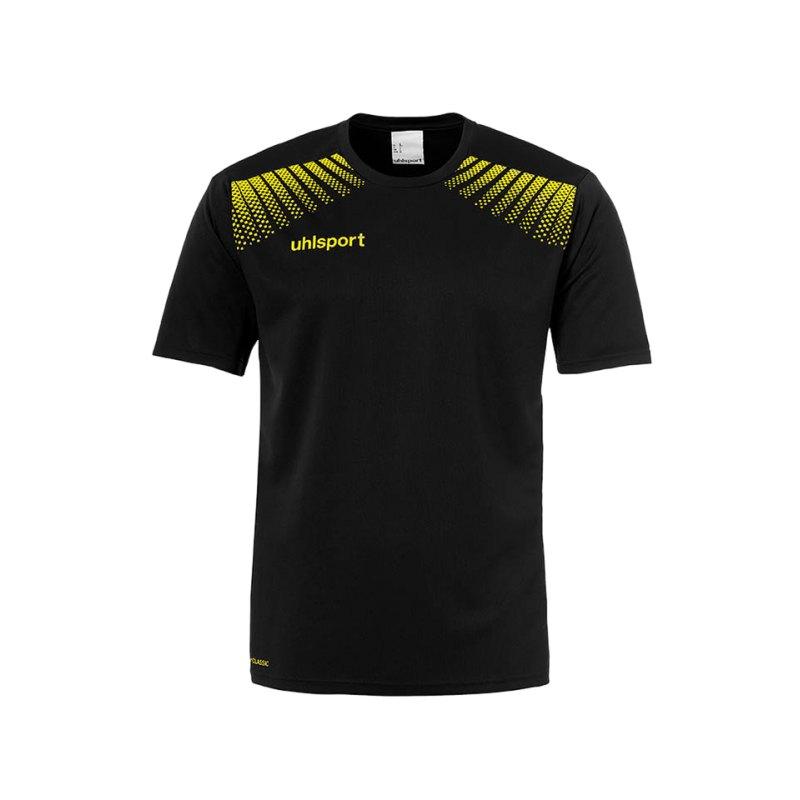 Uhlsport T-Shirt Goal Training Schwarz Gelb F08 - schwarz