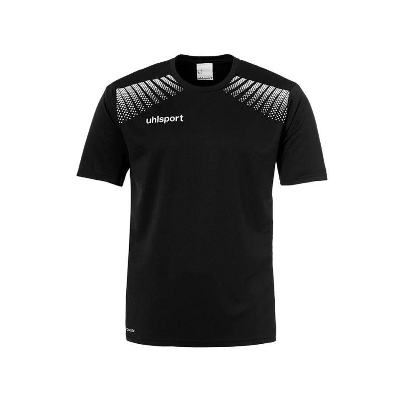 Uhlsport T-Shirt Goal Training Schwarz Weiss F01 - schwarz