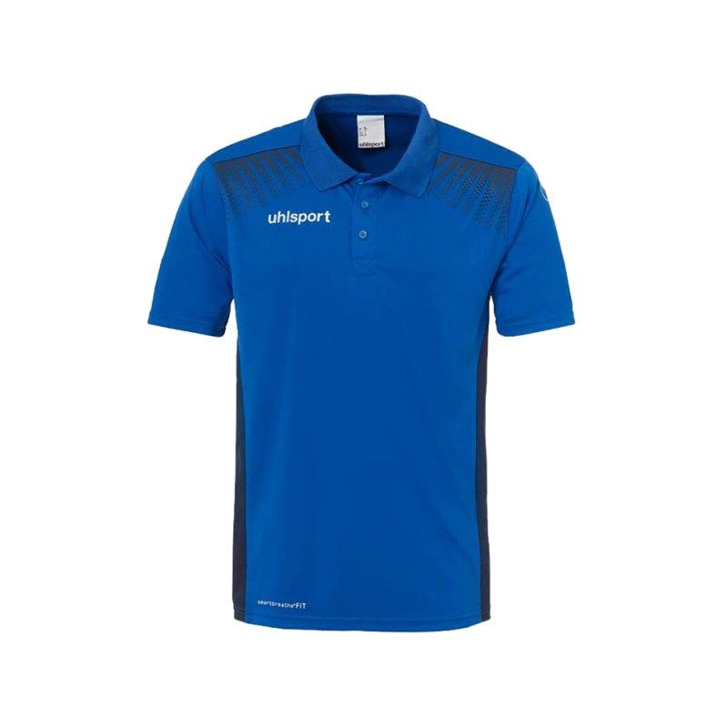 Uhlsport Poloshirt Goal Blau F03 - blau
