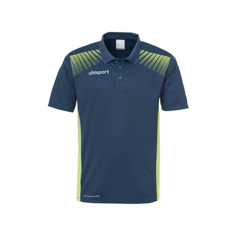 Uhlsport Poloshirt Goal Blau Grün F06 - blau