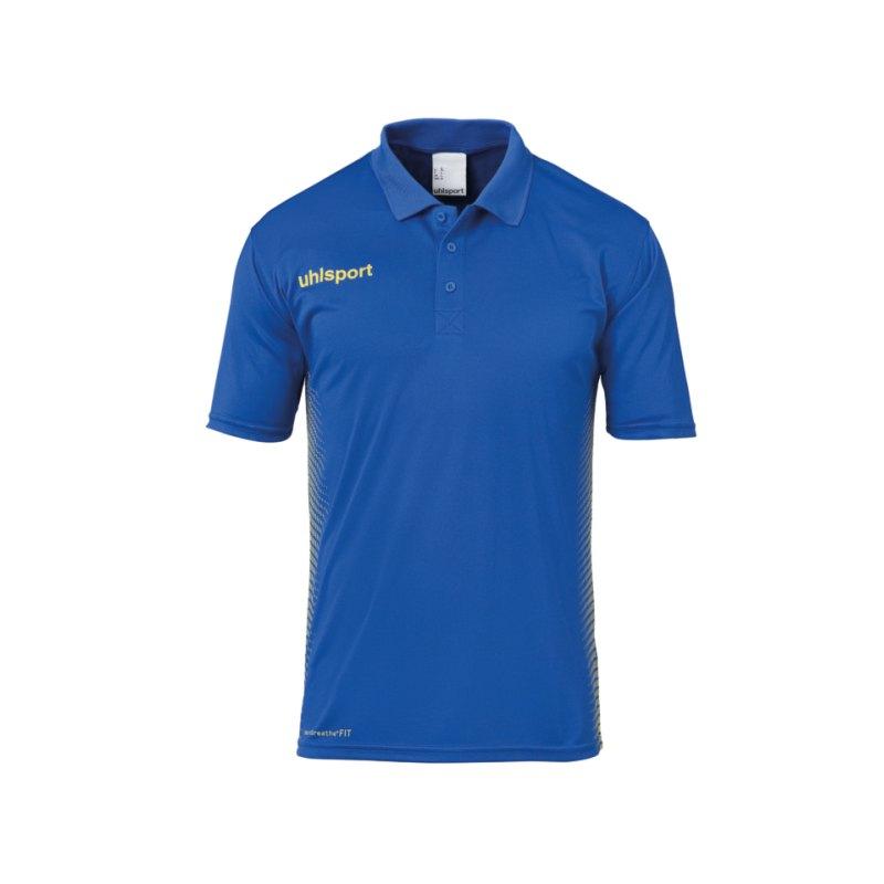 Uhlsport Score Poloshirt Blau Gelb F11 - blau