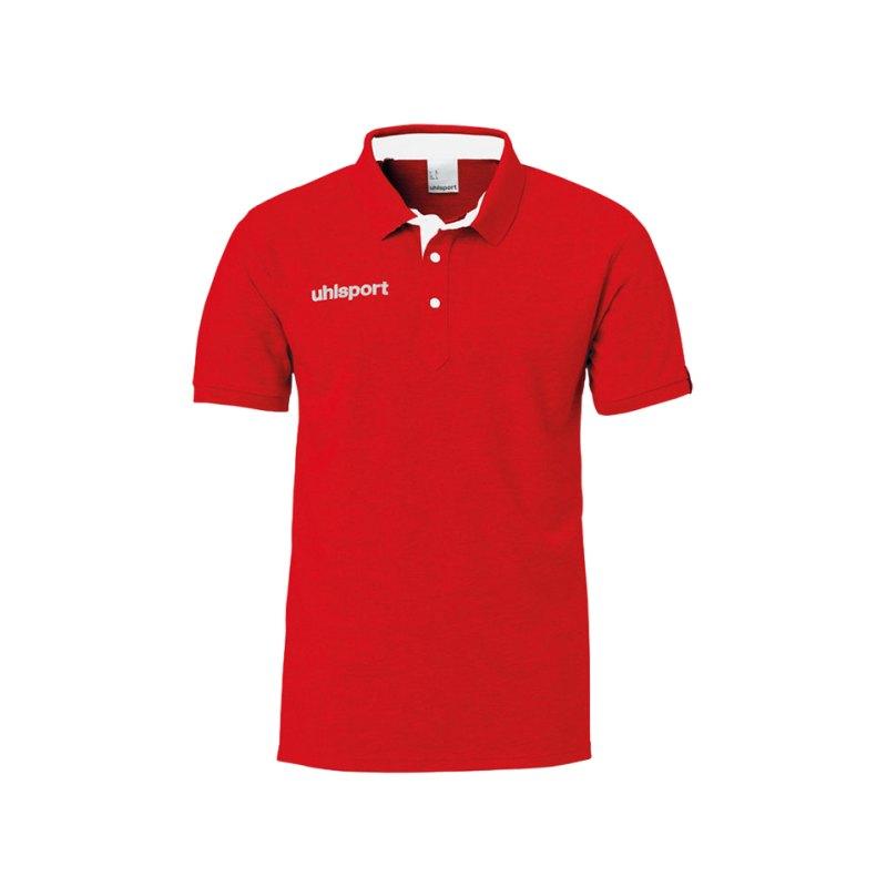 Uhlsport Essential Prime Poloshirt Kids Rot F06 - rot
