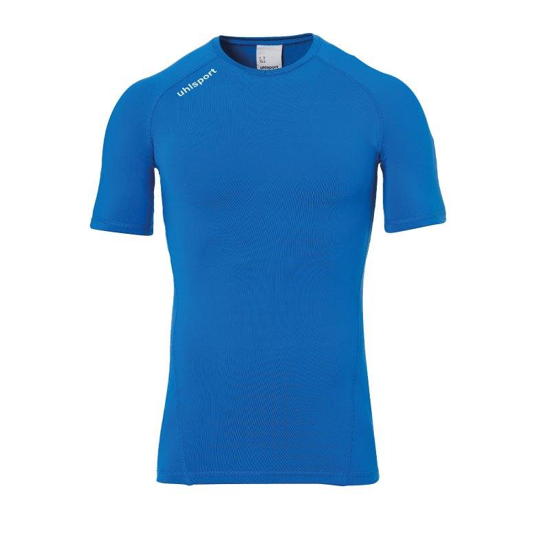 Uhlsport Pro Baselayer kurzarm Blau F03 - Blau