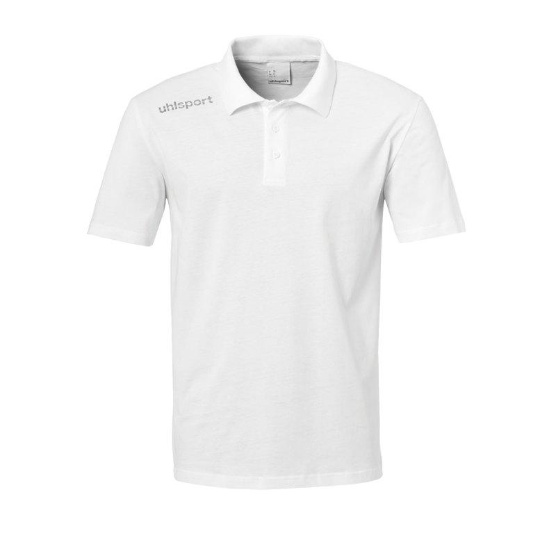 Uhlsport Essential Poloshirt Kids Weiss F02 - Weiss
