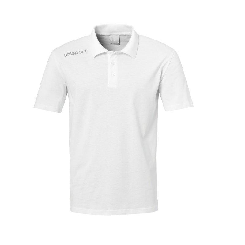Uhlsport Essential Poloshirt Weiss F02 - Weiss
