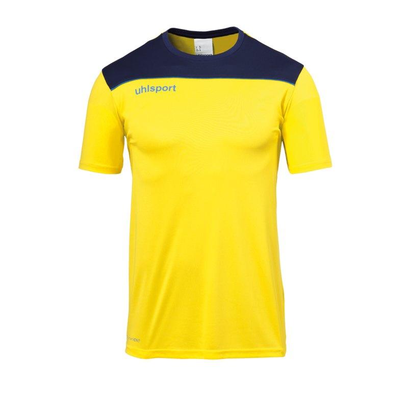 Uhlsport Offense 23 Trainingsshirt Gelb Blau F11 - gelb