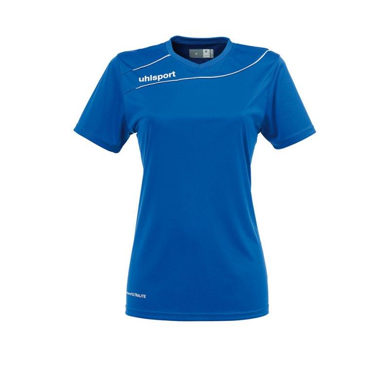 Uhlsport Trikot Stream 3.0 kurzarm Damen Blau 07 - blau