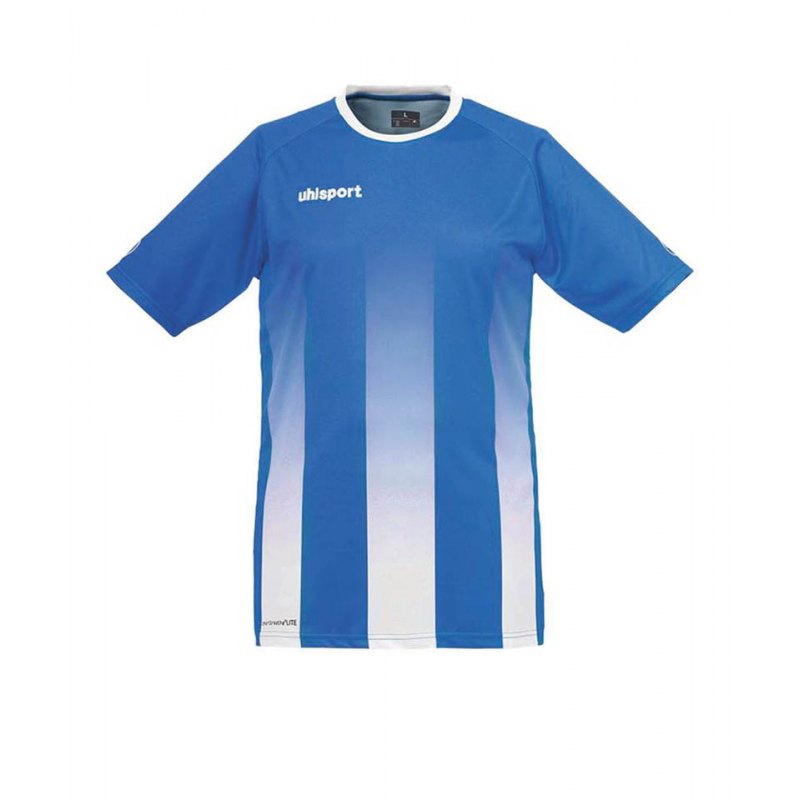 Uhlsport Trikot Stripe kurzarm Blau Weiss F04 - blau