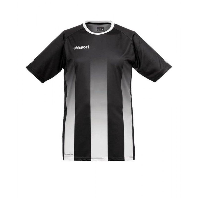 Uhlsport Trikot Stripe kurzarm Kinder Schwarz F02 - schwarz