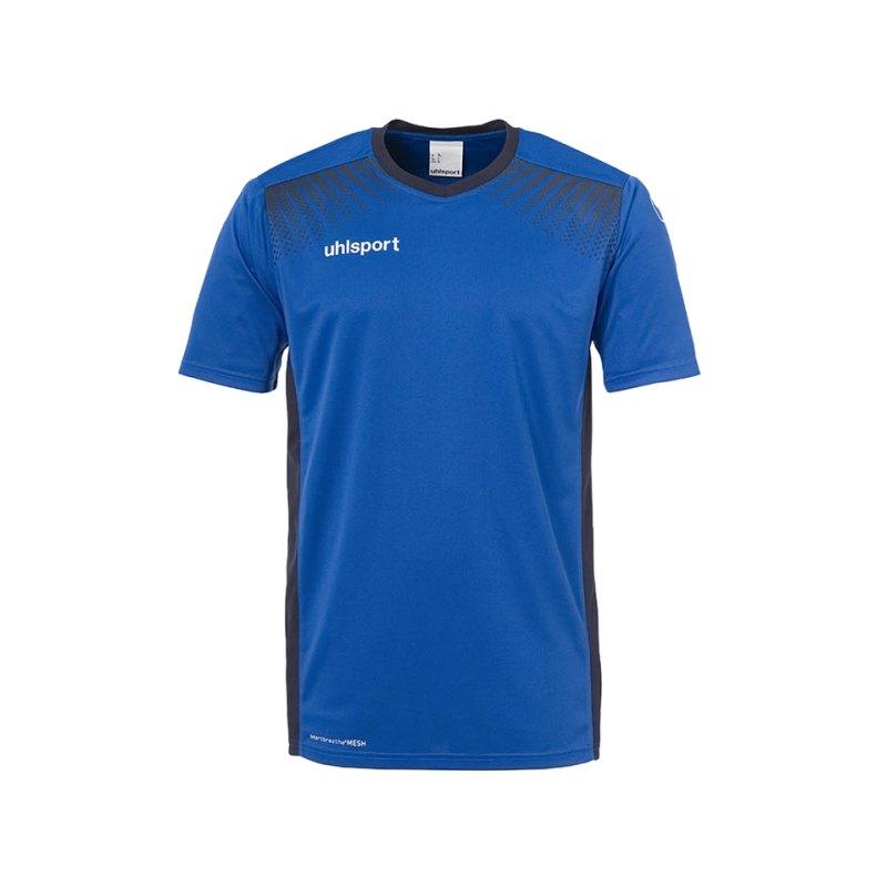 Uhlsport Trikot Goal kurzarm Kinder Blau F03 - blau