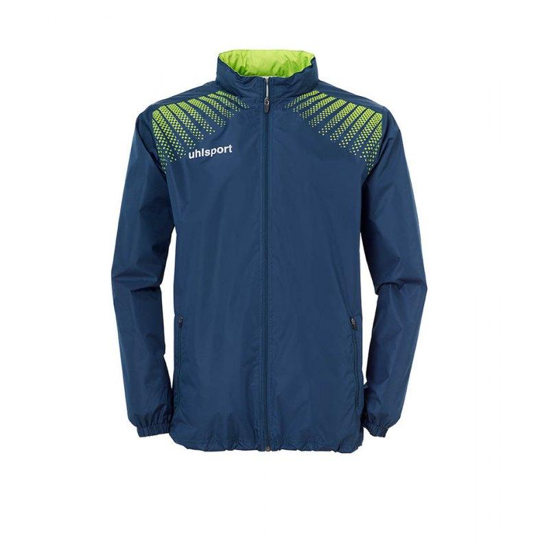 Uhlsport Regenjacke Goal Kinder Blau Grün F06 - blau